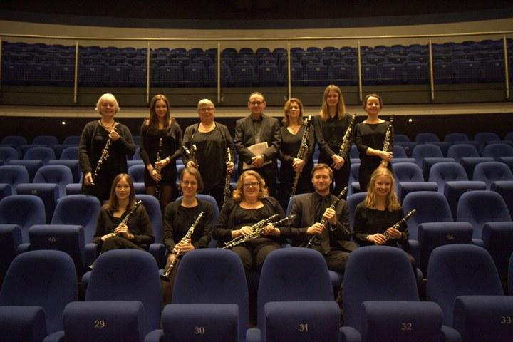 Hofzaalconcert klarinetensemble Skertso