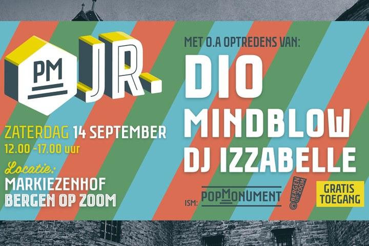 PopMonument Junior 2019: Dio, Mindblow en meer!