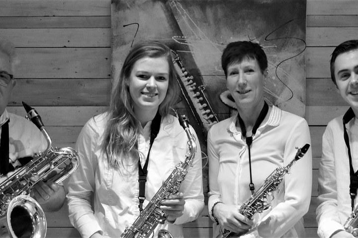 Saxofoonkwartet: Saksofoniilo in het stadspaleis!