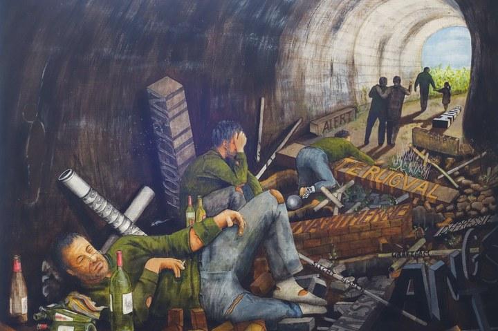 De kunst van het verwerken (75 jaar bevrijding Brabantse Wal)