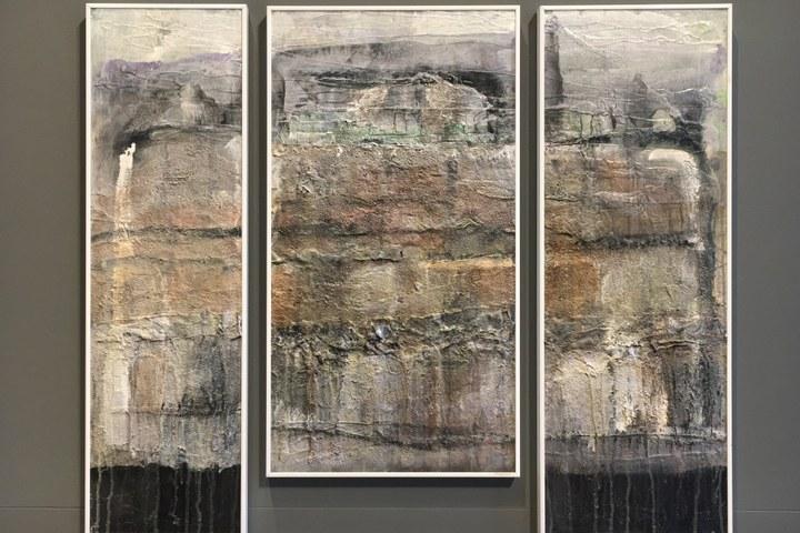 'Aanwezig' – Schilderijen van George Hezemans