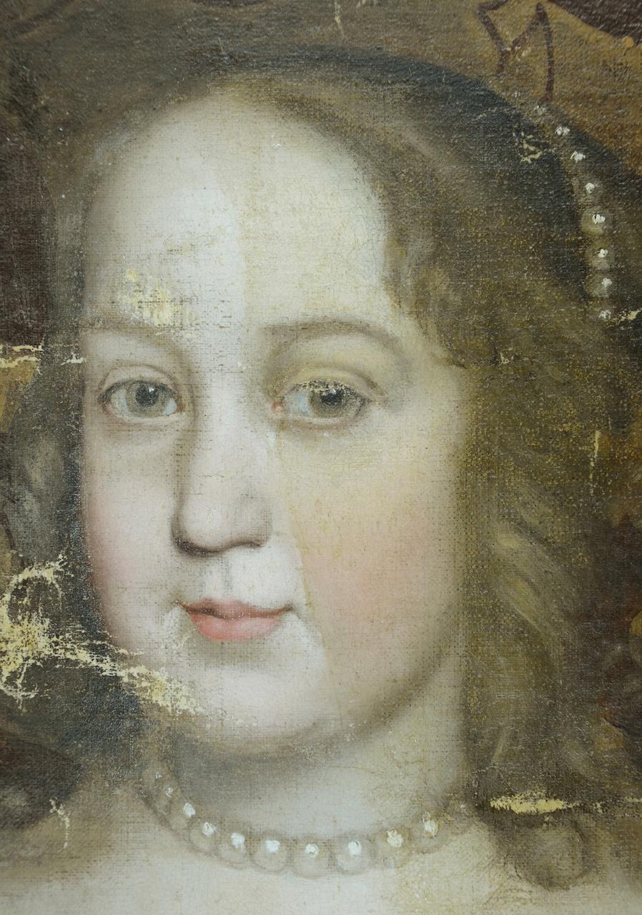Markiezenhof_portret markiezin_gezicht tijdens verwijderen olielaag.jpg