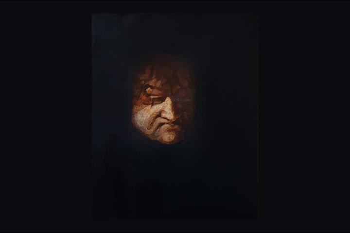 Nieuwe aankoop: schilderij van Mart Franken
